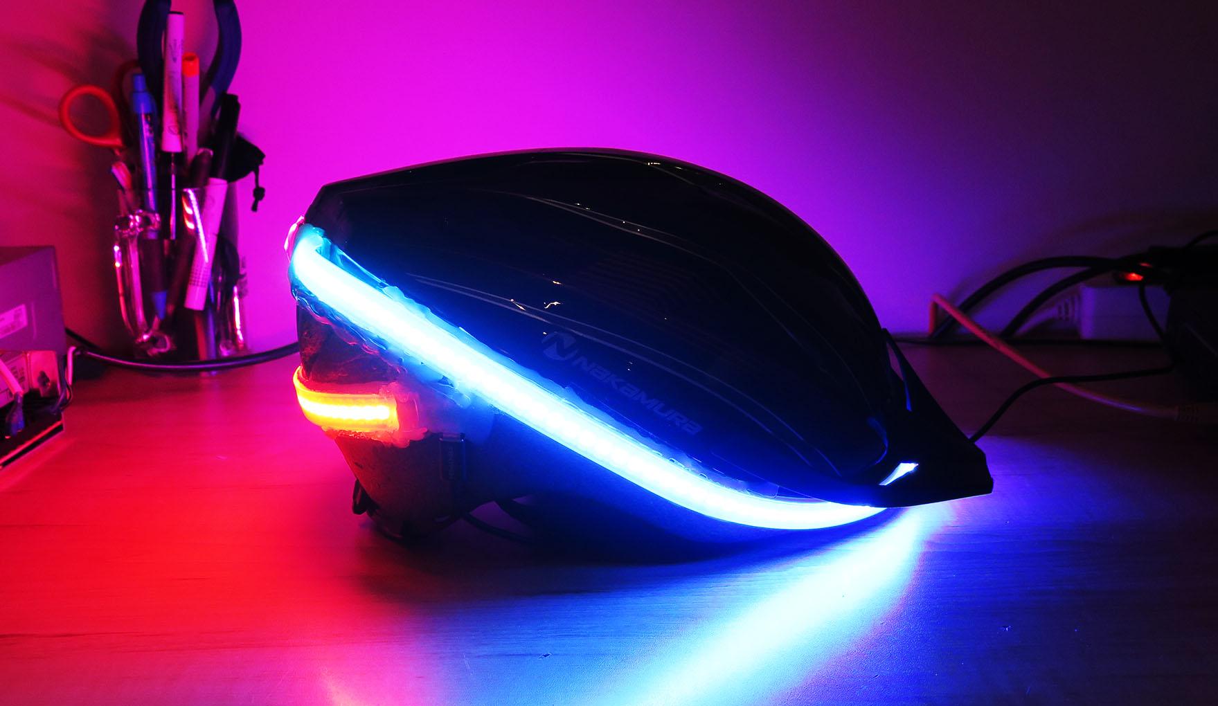 LED Blinking HELMET